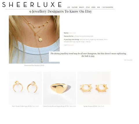 Sheerlux Seol Gold Feature