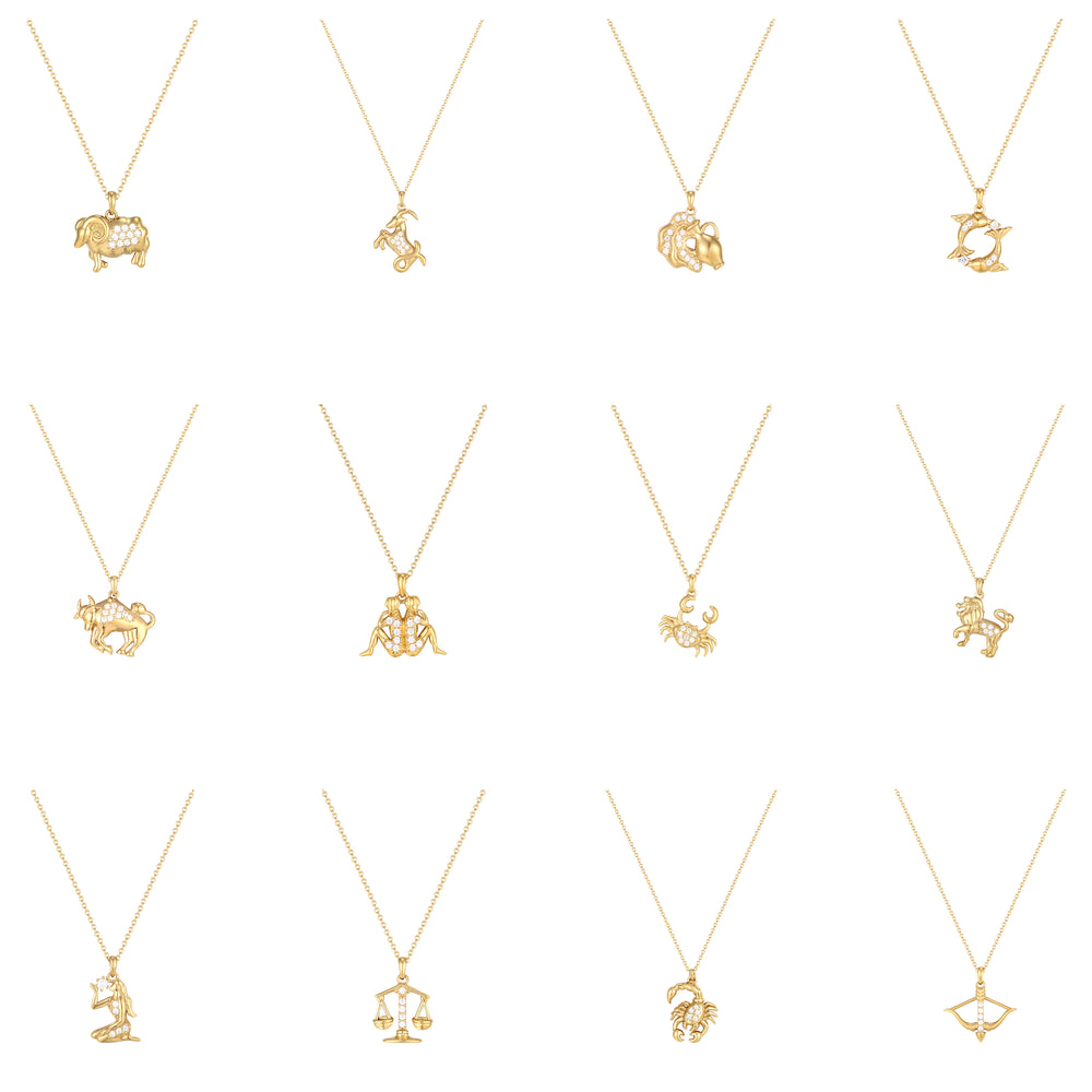 star sign necklace - seol gold