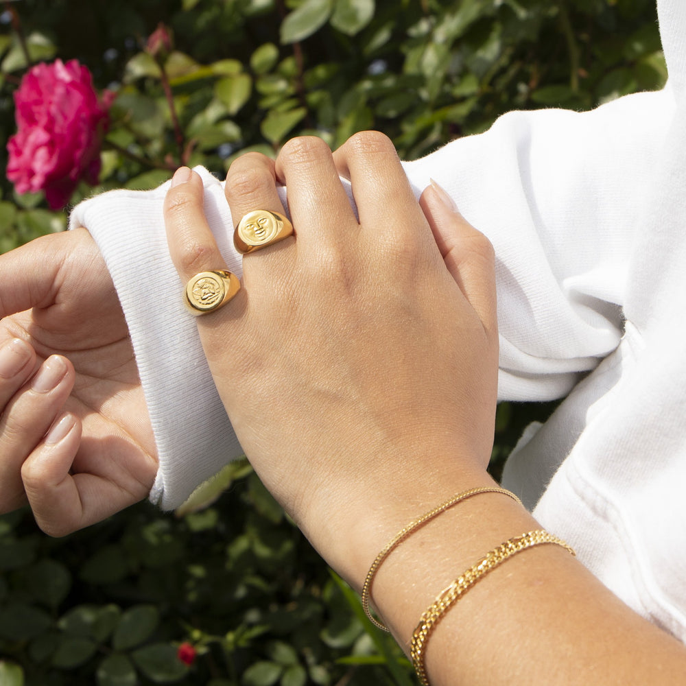 Signet Ring - seol-gold