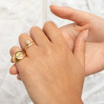 gold ring - seol-gold
