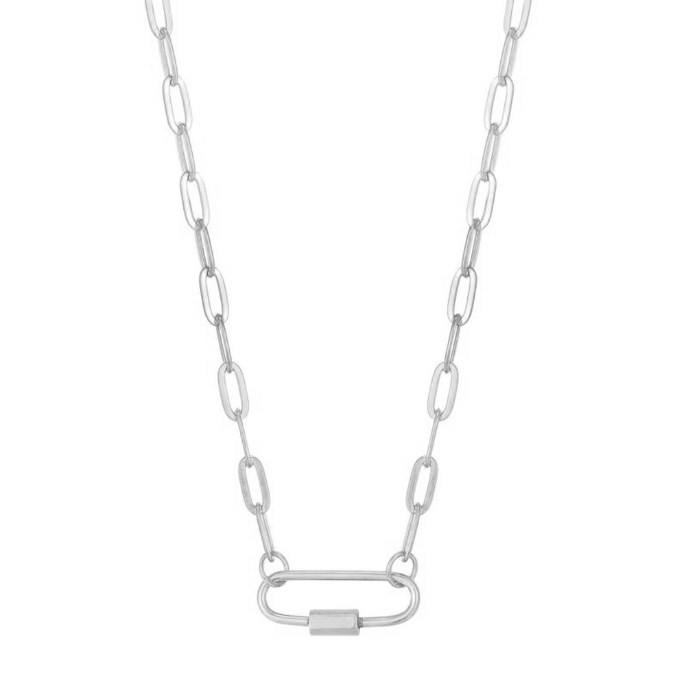 chunky silver chain - seolgold