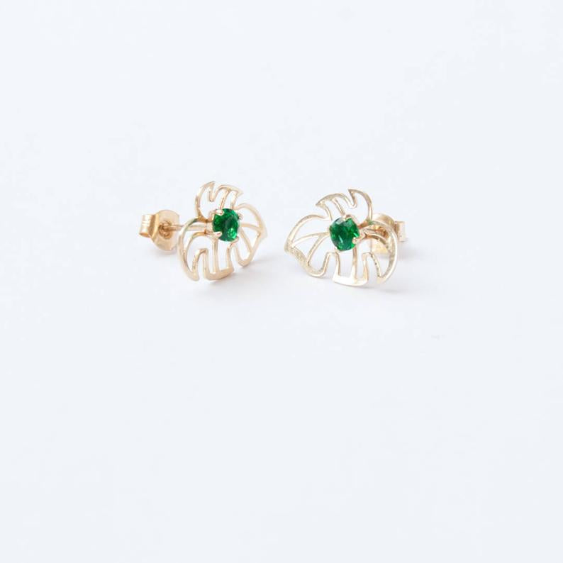 cheese plant studs - seol gold