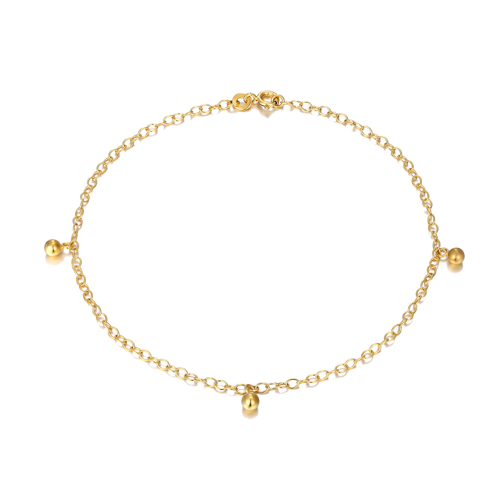 Gold ankle chain - seol-gold