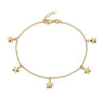 Charm Ankle Chain - seol-gold