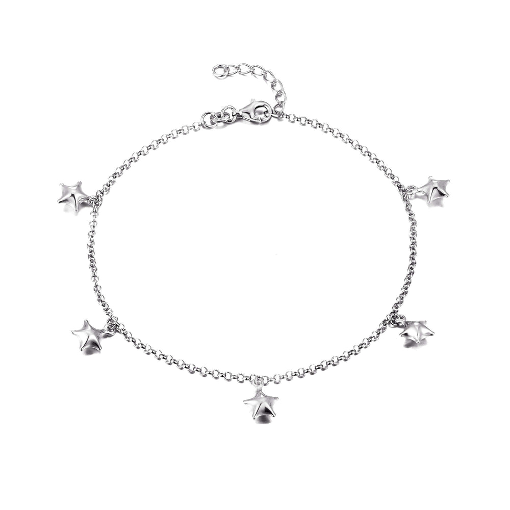 silver anklet - seol gold