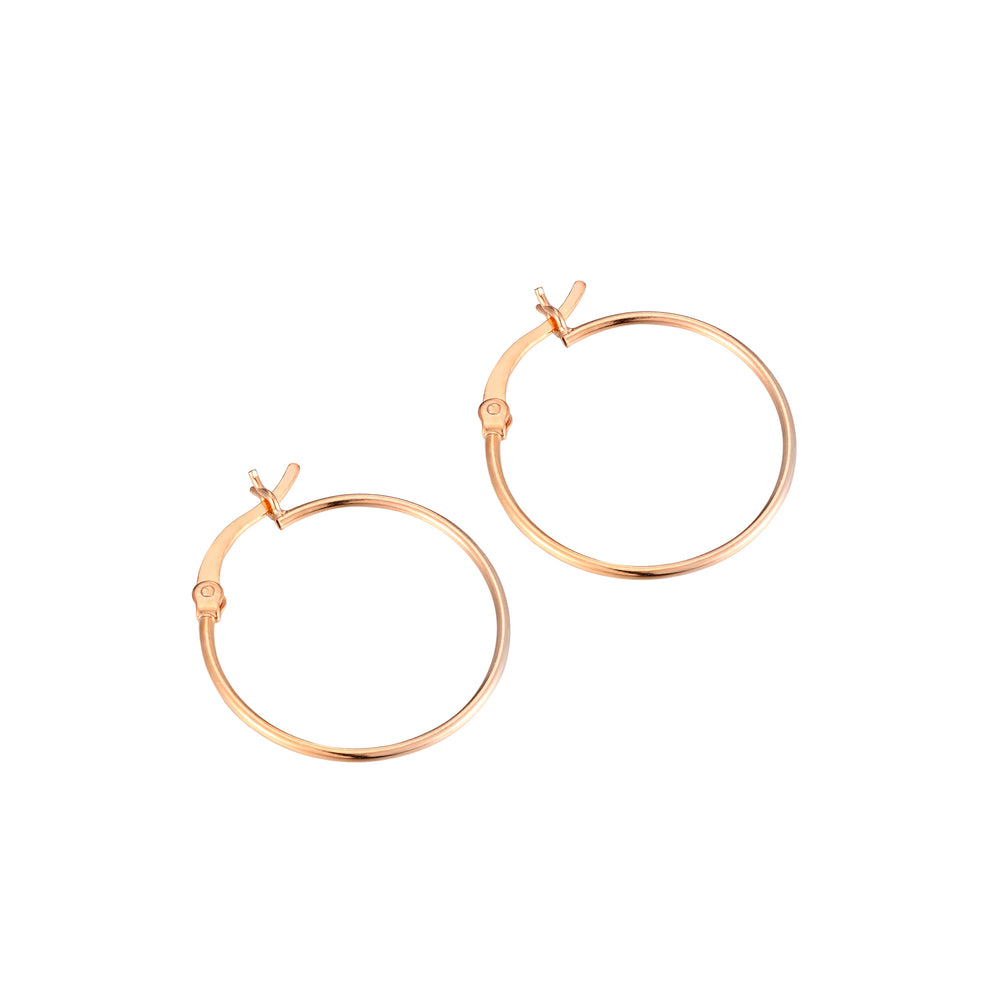 Super Thin Creole Hoops