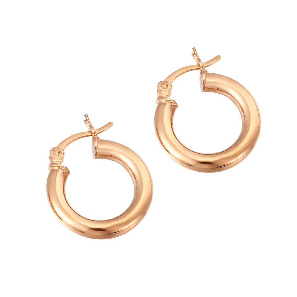 Rounded Creole Hoops