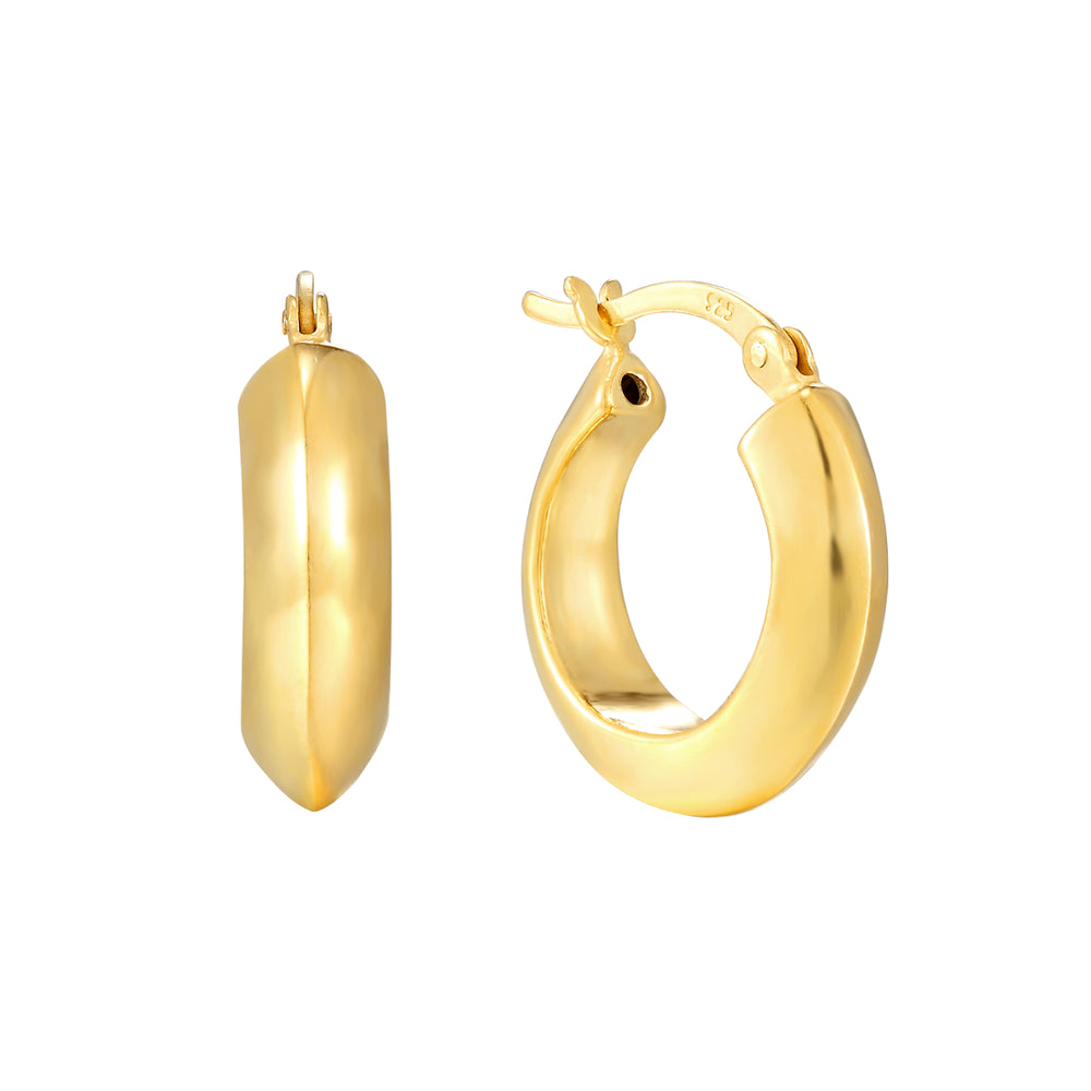 Gold Creole Hoops - seol-gold