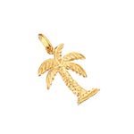 Palm Tree Charm Pendant