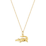 gold alligator - charm - seolgold