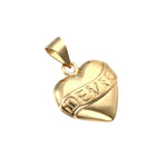 Devil Heart Pendant - seol-gold