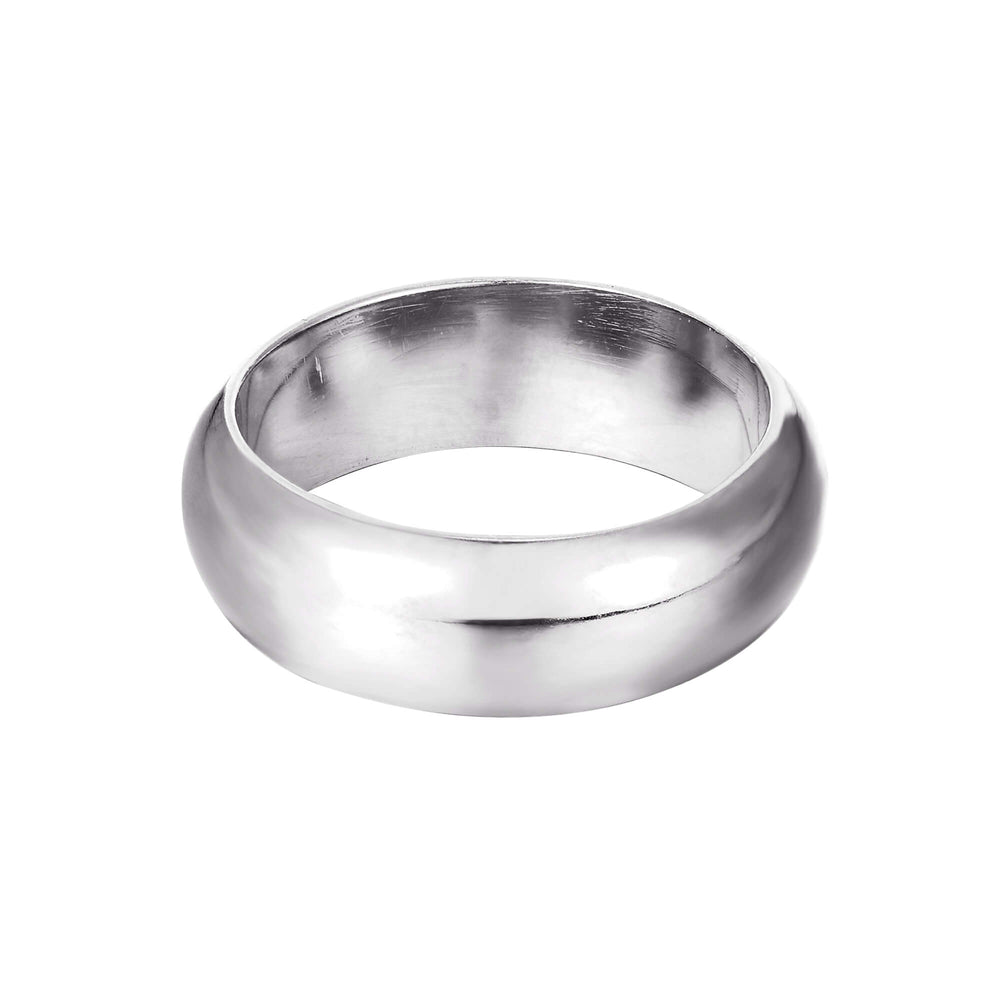 Silver Cigar Ring - seol-gold