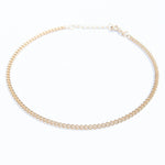 Curb Chain Anklet - seol-gold