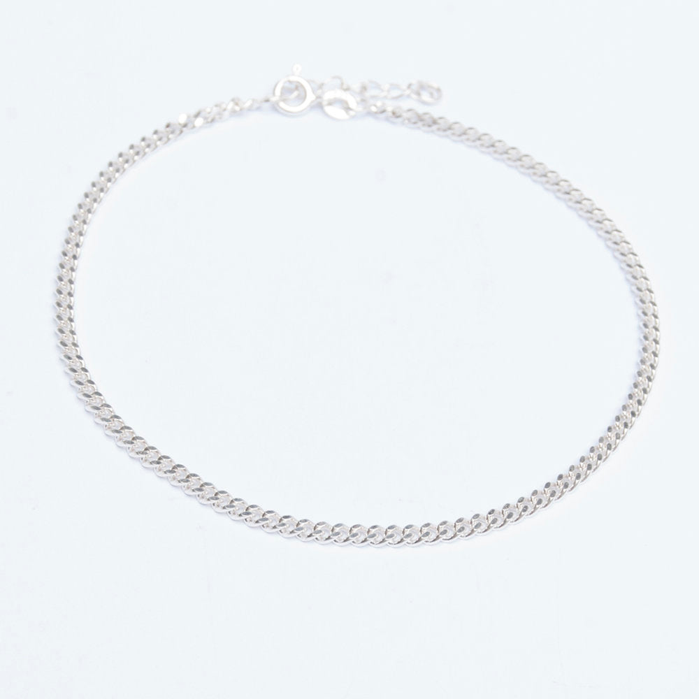 Silver - Ankle chain - seol-gold