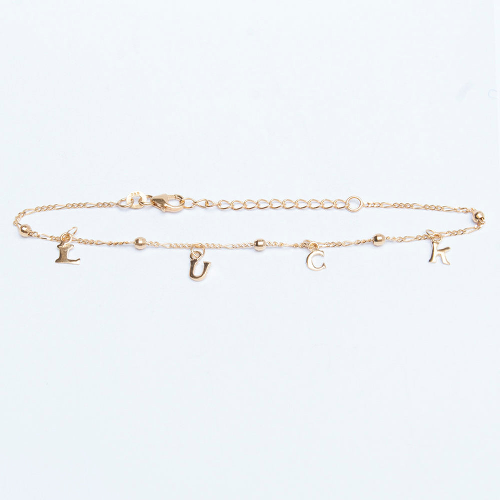 Ankle chain - seol-gold