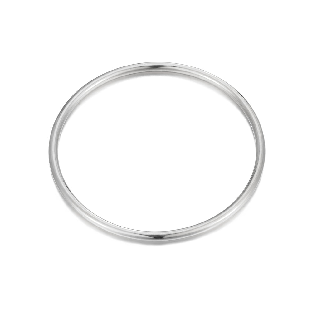 Solid Rounded Bangle