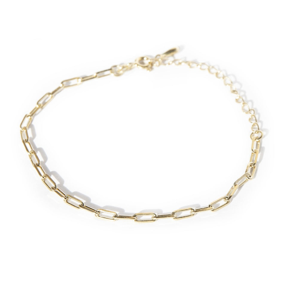 Cable chain bracelet - seol-gold