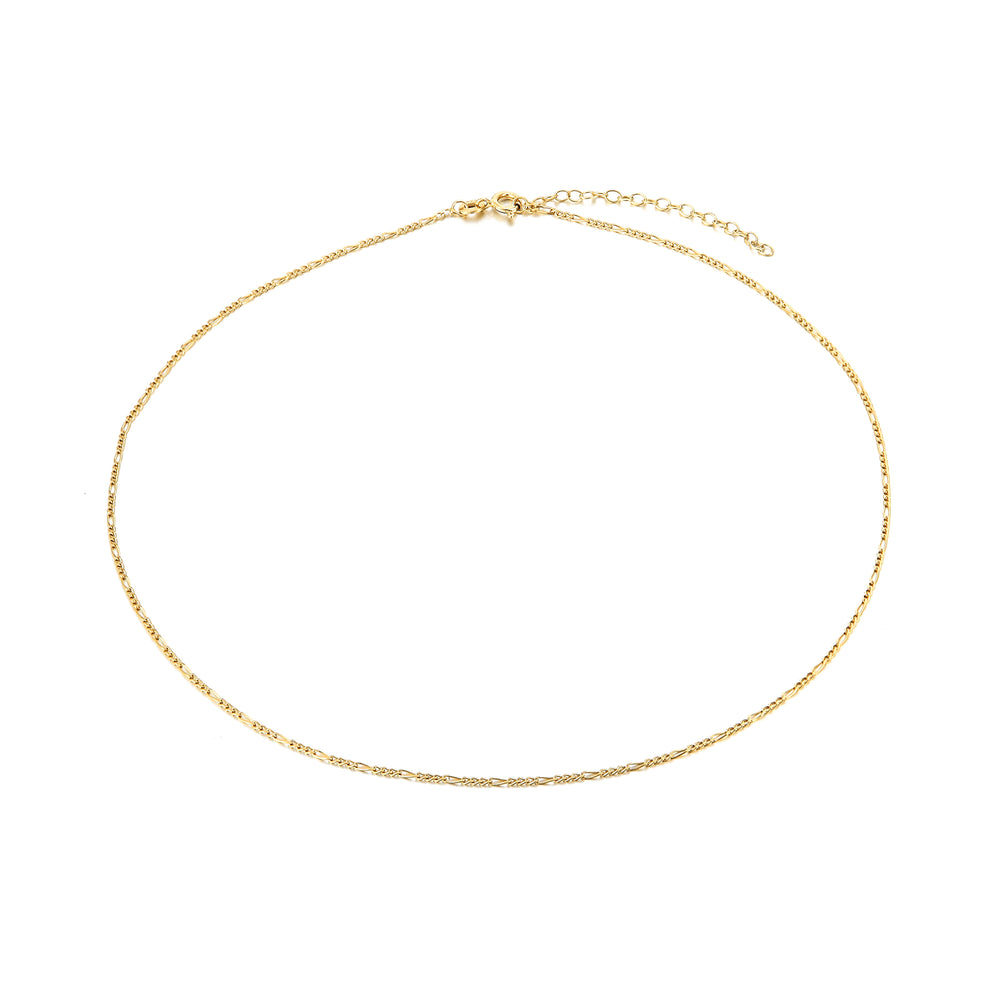 gold figaro chain -seol gold