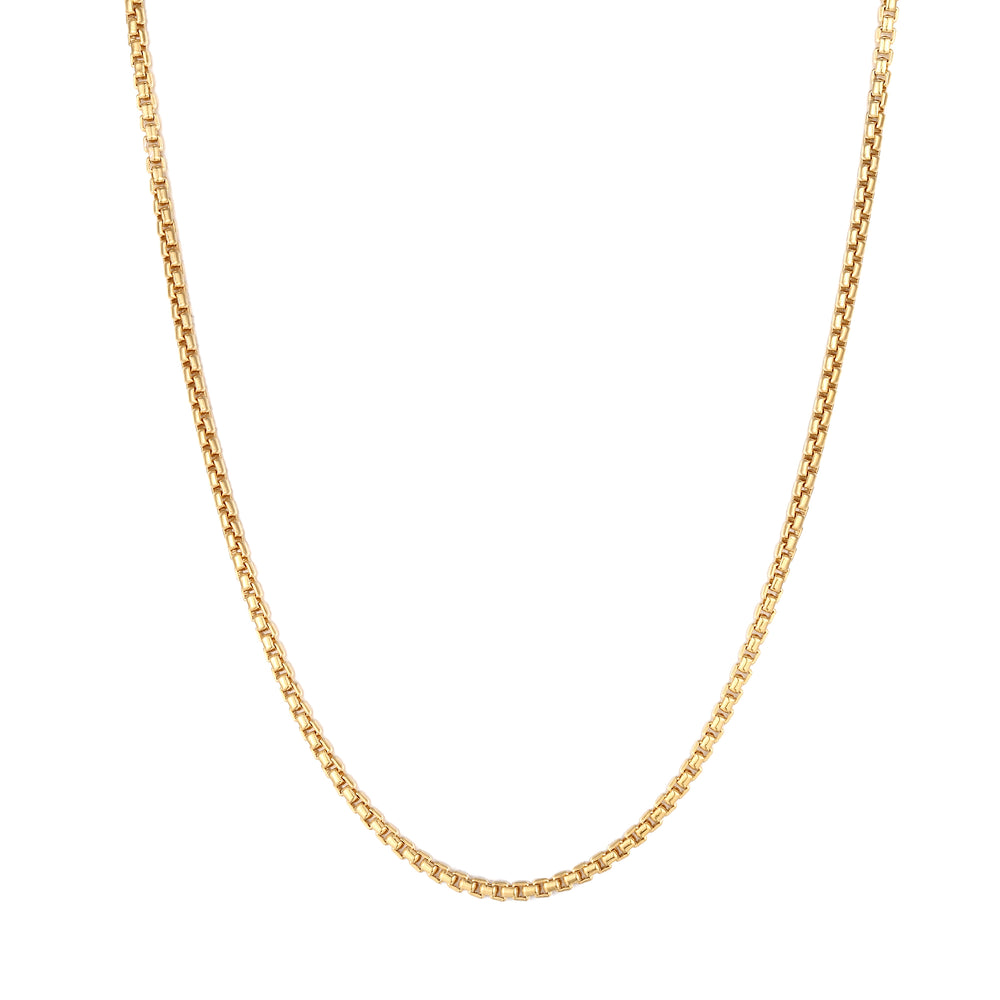Rounded Box Chain - seol-gold