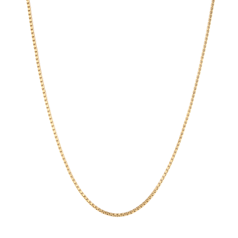 chain necklace - seol-gold