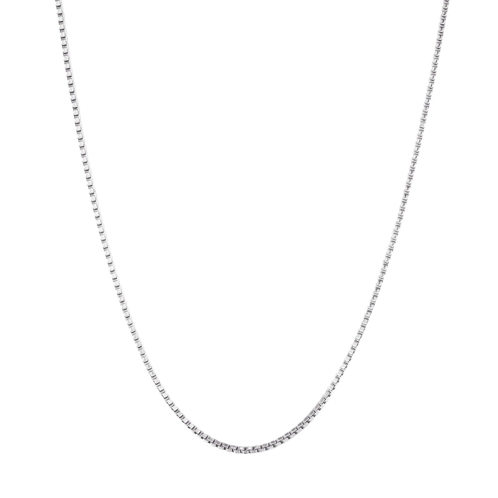 silver box chain - seolgold