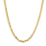 anchor chain necklace - seol-gold