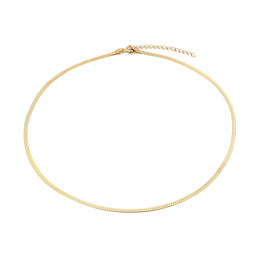 Herringbone Chain - seol-gold