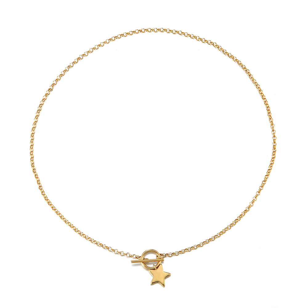 star necklace - seol-gold