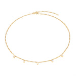 layering necklace -seol gold