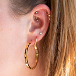big hoops - seol-gold