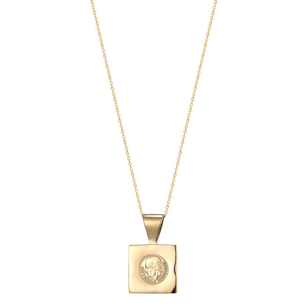 Coin Necklace - seol-gold