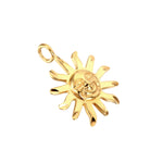 Sun necklace - seol-gold