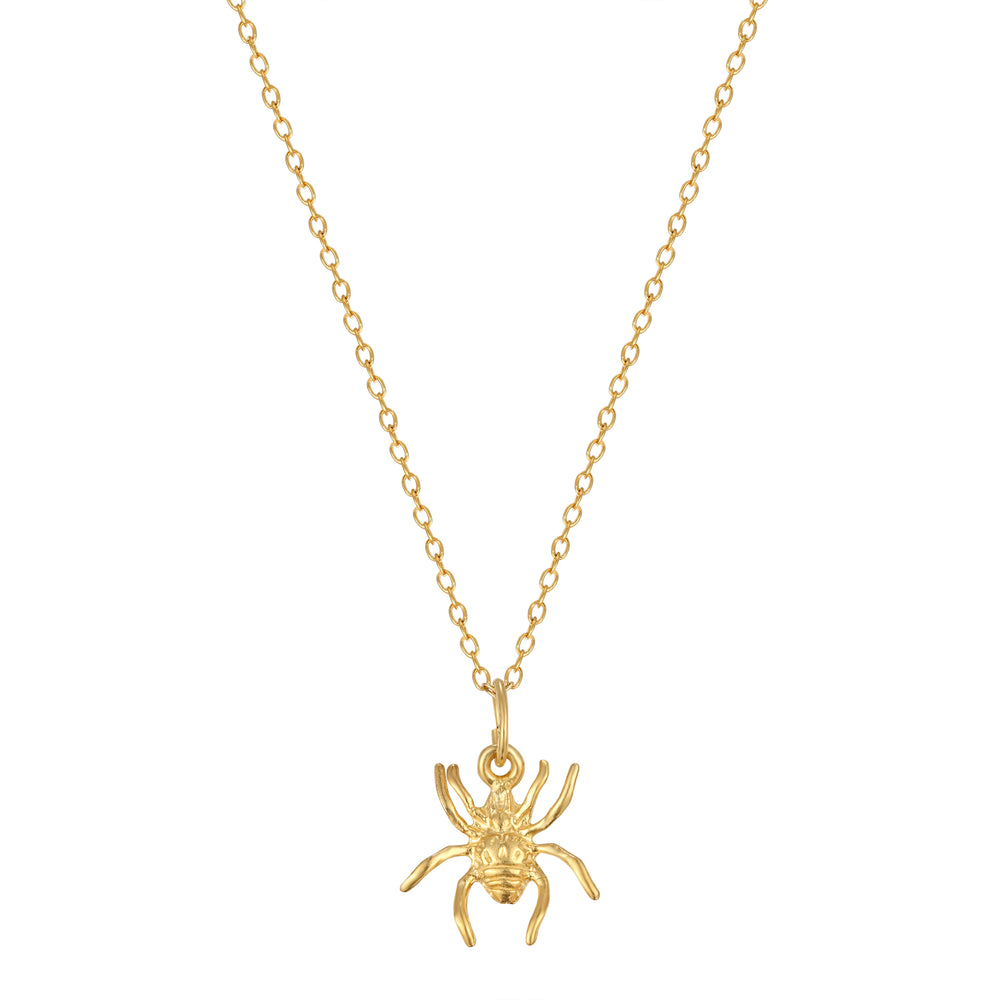 Spider Charm - seol-gold