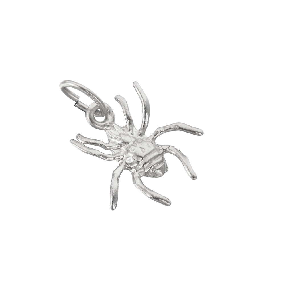 silver spider pendant - seolgold