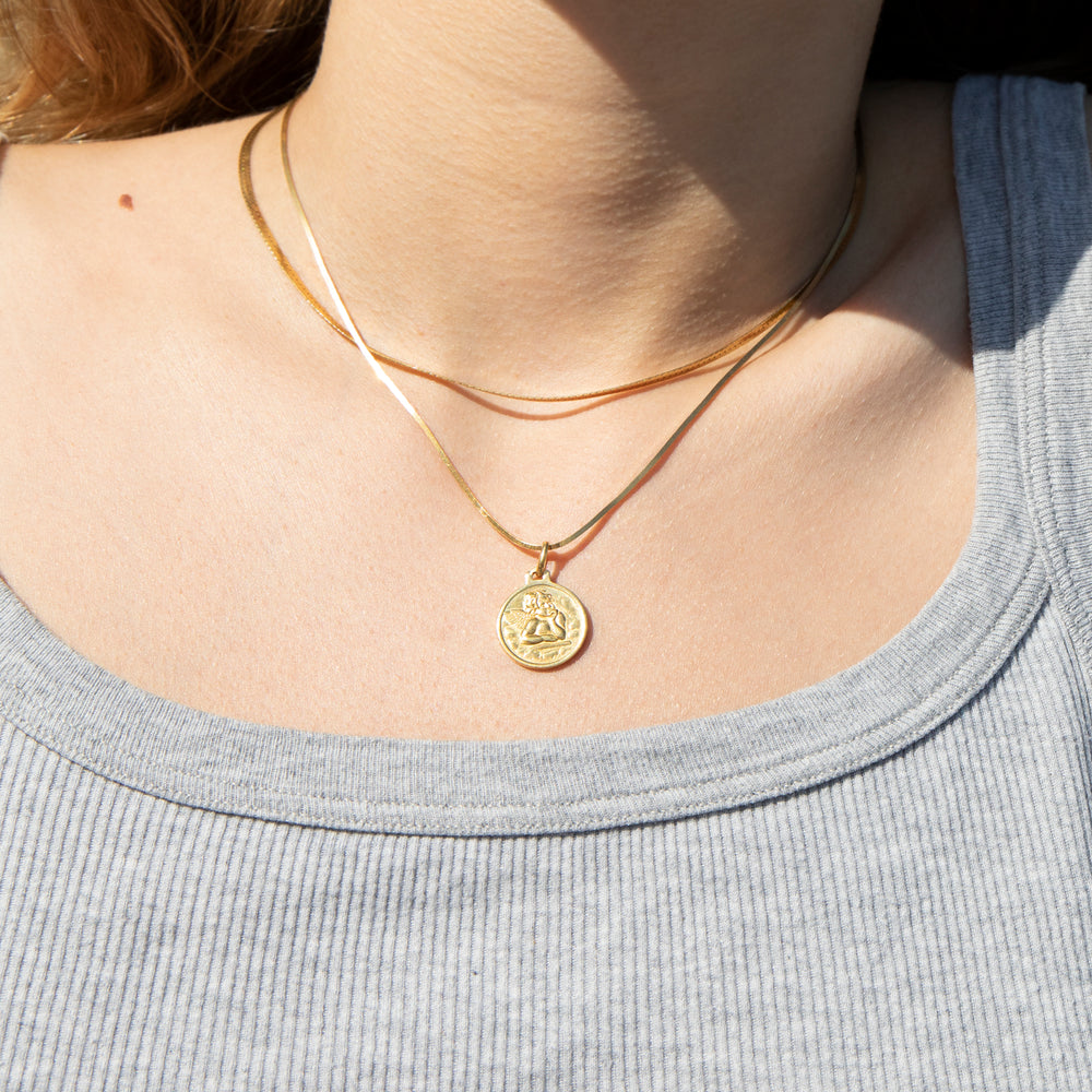 Cherub jewellery- seol-gold