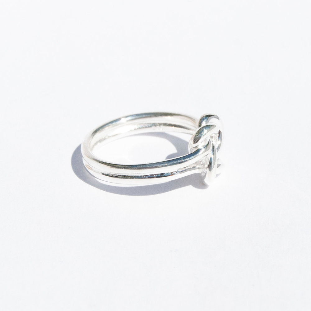 Twisted Knot Ring - seol-gold