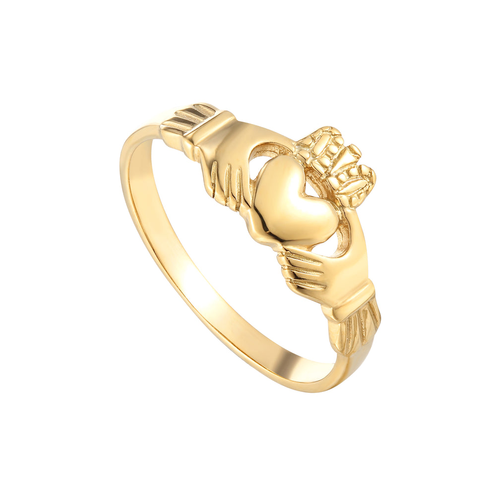 gold friendship Ring - seol-gold