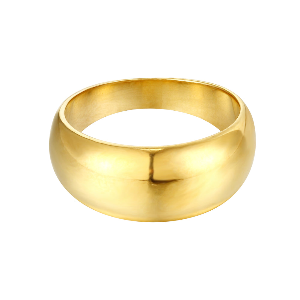 domed ring - seol gold