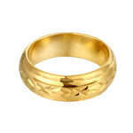 engraved cigar ring - seolgold