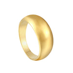 thick gold ring - seolgold