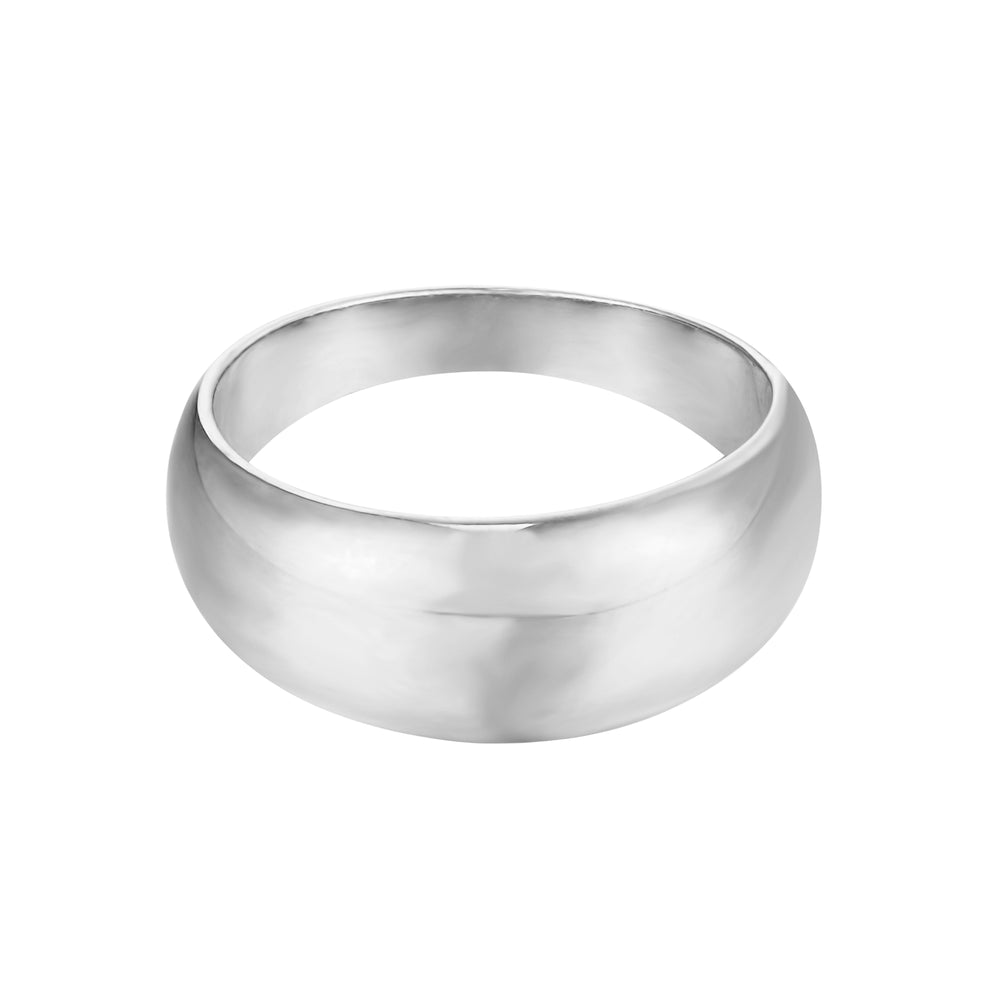 thick silver ring - seolgold