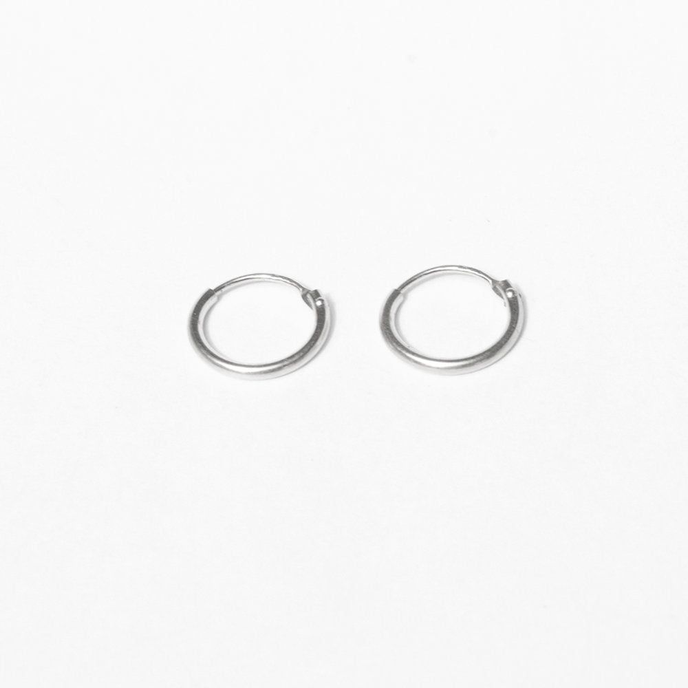 Sterling Silver Hoop Earrings - seol-gold