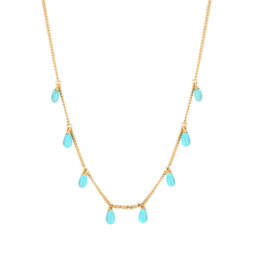 charm necklace -seol gold