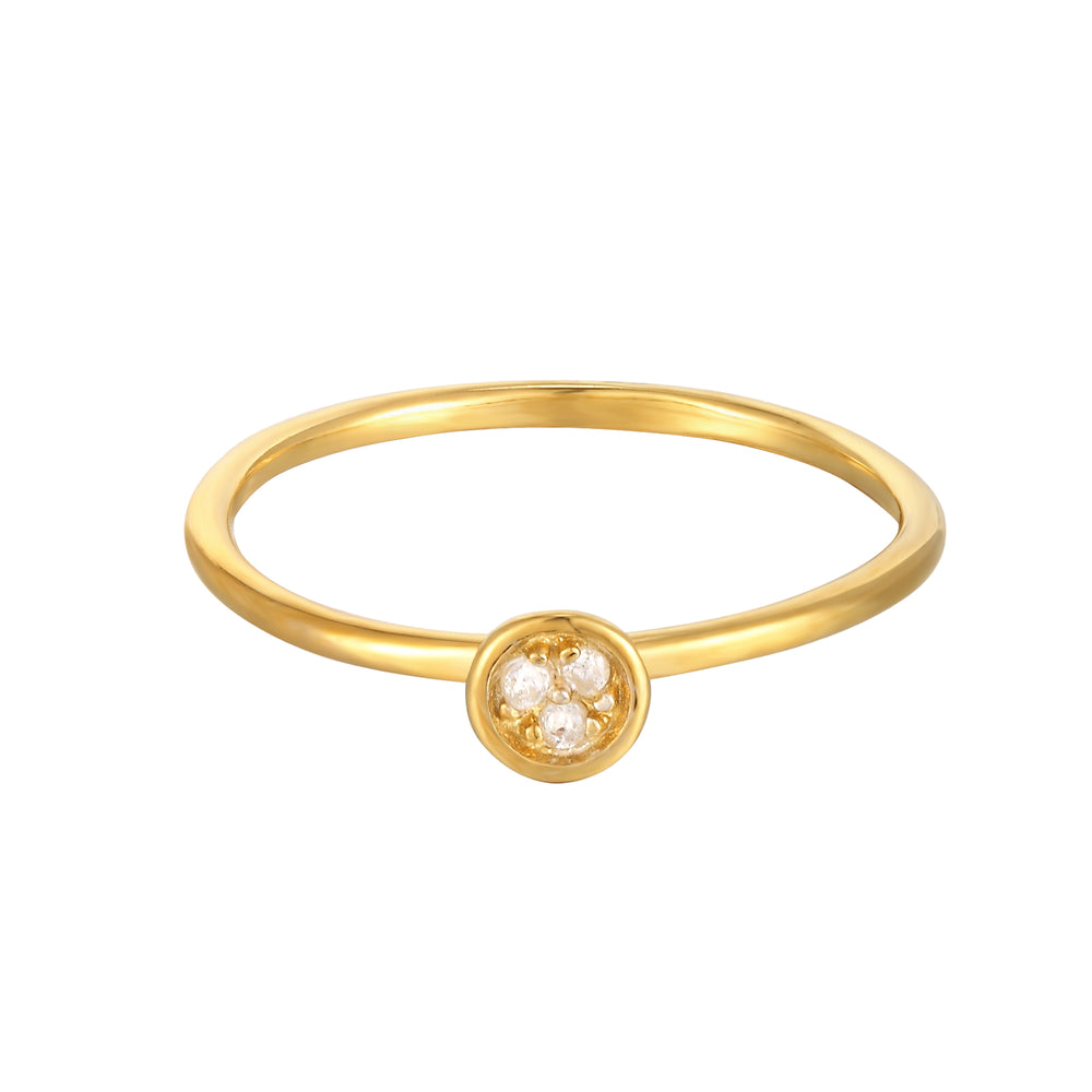 CZ Stacking Ring