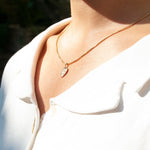 'Te Amo' Necklace - seol-gold