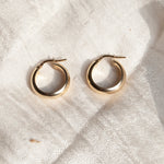 Thick Creole Hoops - seol-gold