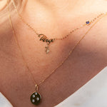 Zodiac Star Sign Necklace - seol-gold