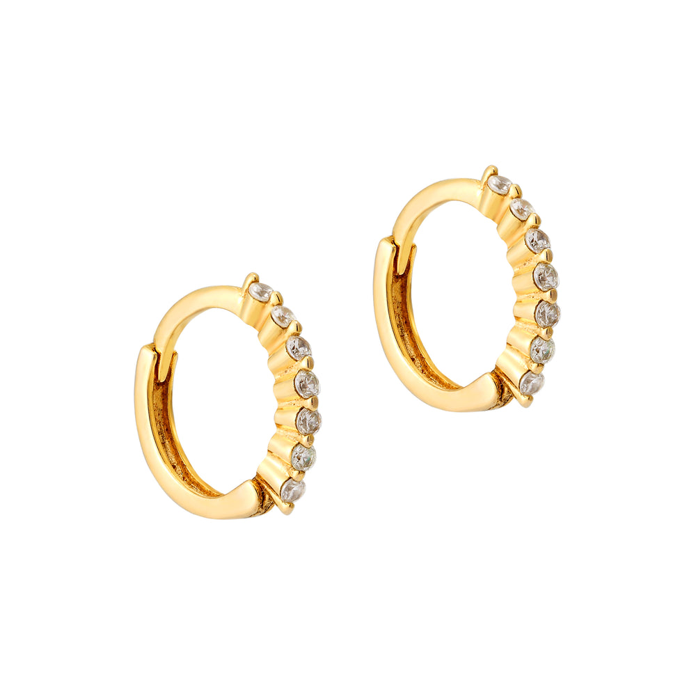 tiny gold cartilage earring - seol-gold