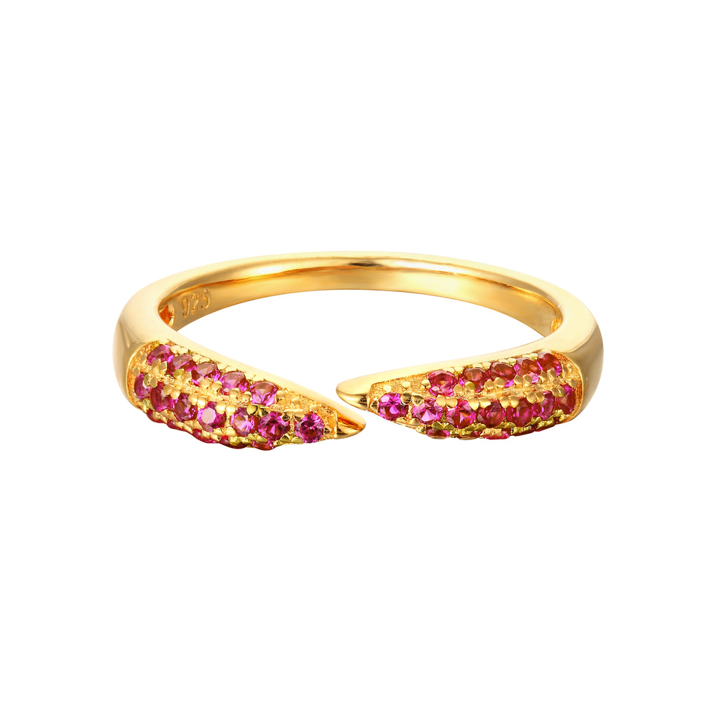 ruby ring - seolgold