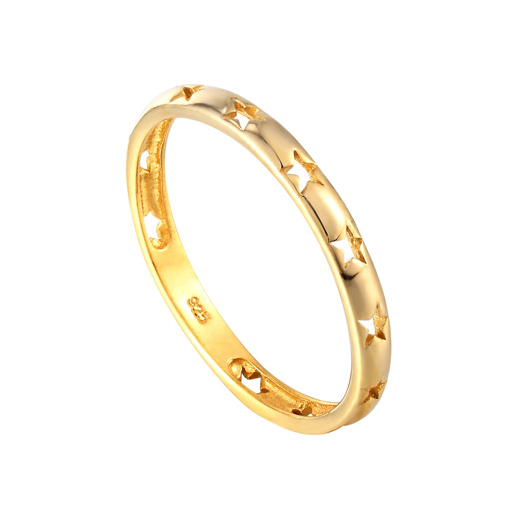 thin gold ring - seolgold